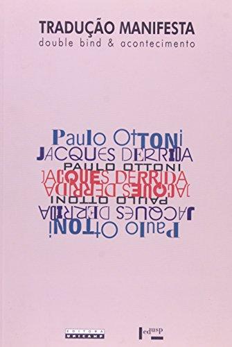 Tradução Manifesta - Double bind e acontecimento, livro de Paulo Ottoni