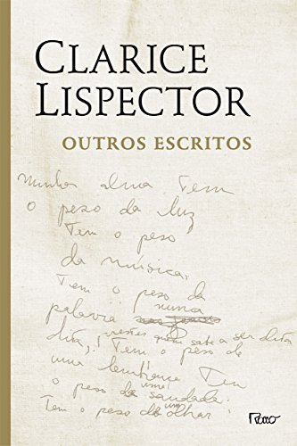 OUTROS ESCRITOS, livro de Clarice Lispector