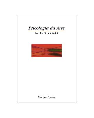 Psicologia da arte, livro de Lev Semenovitch Vigotski
