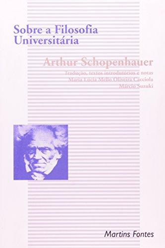 Sobre a filosofia universitária, livro de Arthur Schopenhauer