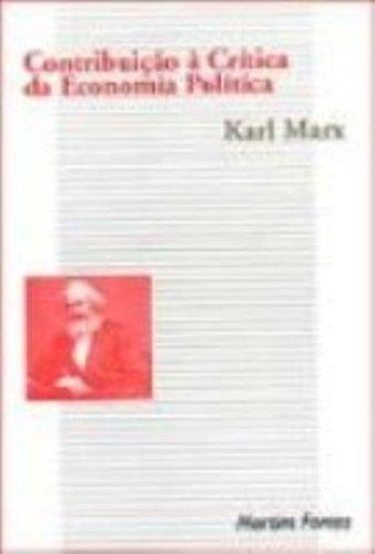 Contribuição à crítica da economia política, livro de Karl Marx