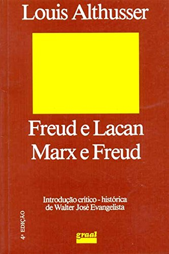 Freud e Lacan - Marx e Freud, livro de Louis Althusser
