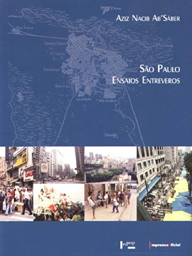 """São Paulo: Ensaios Entreveros  """"GANHADOR PRÊMIO JABUTI 2005"""", livro de SÁBER, Aziz Nacib Ab"""