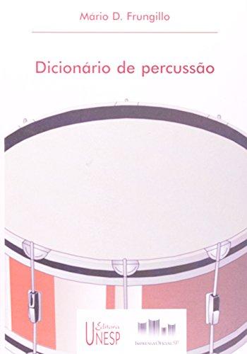 Dicionário de Percussão, livro de Mário D. Frungillo