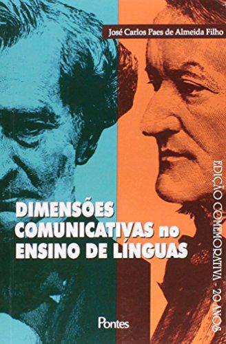Dimensões comunicativas do ensino de línguas, livro de José Carlos Paes de ALmeida Filho