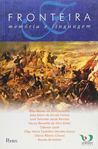 Fronteira - Memória e Linguagem, livro de Vários autores