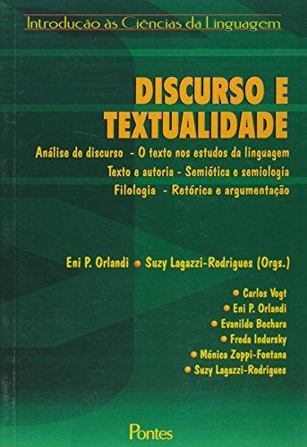 Discurso e textualidade, livro de Eni Pulcinelli Orlandi, Suzy Lagazzi-Rodrigues (Orgs.)