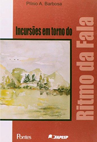 Incursões em torno do ritmo da fala, livro de Plínio A. Barbosa