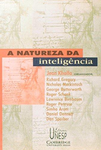 A Natureza da Inteligência - uma visão interdisciplinar, livro de Jean Khalfa (Org.)