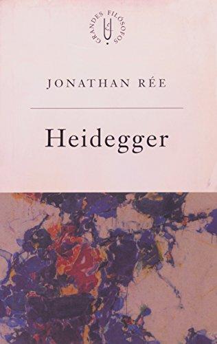 Heidegger - história e verdade em ser e tempo, livro de Jonathan Rée