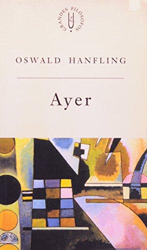 Ayer - analisando o que queremos dizer, livro de Oswald Hanfling