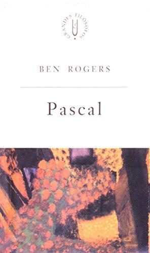 Pascal - elogio do efêmero, livro de Ben Rogers