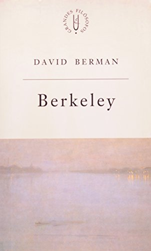 Berkeley - filosofia experimental, livro de David Berman
