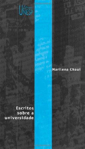 Escritos sobre a universidade, livro de Marilena Chauí