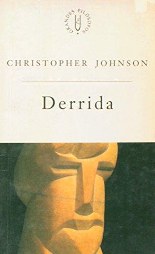Derrida - a cena da escritura, livro de Chirstopher Johnson
