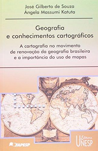 Geografia e conhecimentos cartográficos, livro de José Gilberto de Souza e Ângela Massumi Katuta