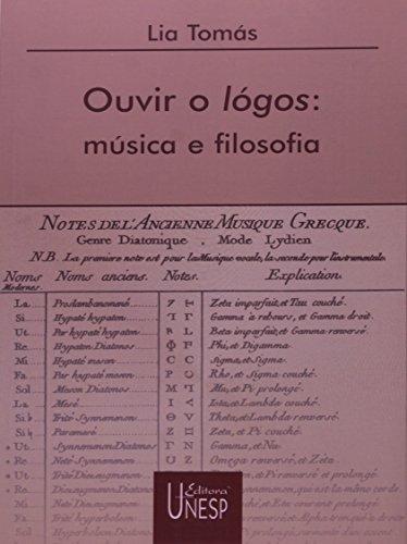 Ouvir o Logos - música e filosofia, livro de Lia Tomás