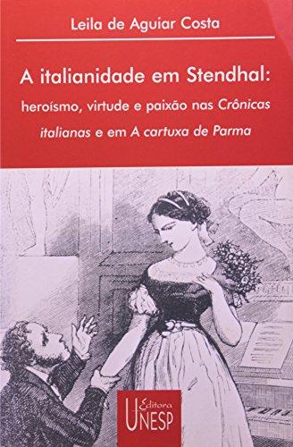 A italianidade em Stendhal, livro de Leila de Aguiar Costa