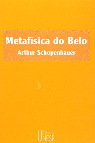 Metafísica do Belo, livro de Arthur Schopenhauer
