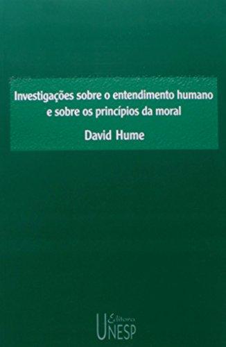 Investigações sobre o entendimento humano e sobre os princípios da moral, livro de David Hume