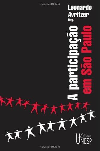 A participação em São Paulo, livro de Leonardo Avritzer (Org.)