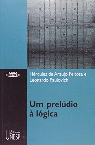 Um prelúdio à lógica, livro de Hercules de Araujo Feitosa
