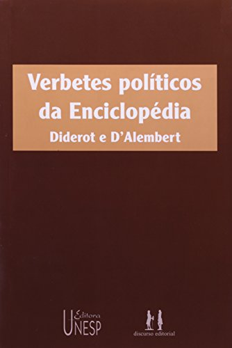 Verbetes políticos da enciclopédia, livro de Denis Diderot, Jean Le Rond D`Alembert