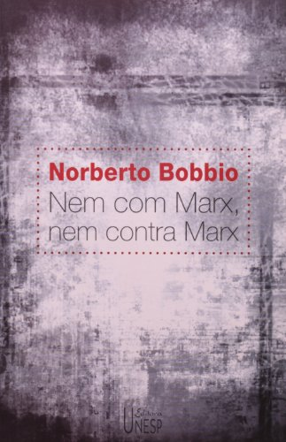Nem com Marx, nem contra Marx, livro de Norberto Bobbio