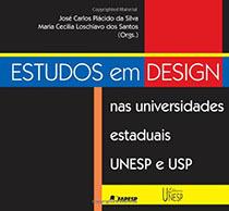 Estudos em design nas universidades estaduais UNESP e USP, livro de José Carlos Palácido da Silva, Maria Cecília Loschiavo dos Santos