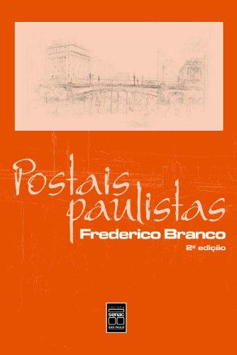Postais Paulistas, livro de Frederico Branco