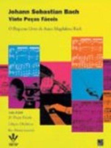 VINTE PEÇAS FÁCEIS, livro de Johann Sebastian Bach