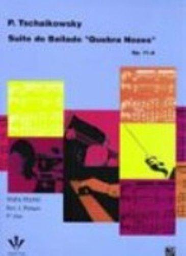 SUÍTE DO BAILADO QUEBRA NOZES - OP. 71-A, livro de Piotr Iljitsch Tschaikowsky