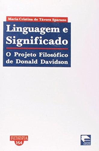 Linguagem e significado, livro de Maria Cristina de Távora Sparano