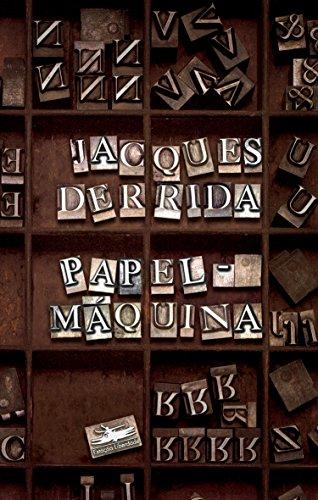 Papel-Máquina, livro de Jacques Derrida