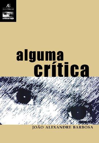 Alguma Crítica, livro de João Alexandre Barbosa
