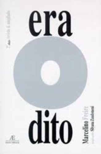 EraOdito, livro de Marcelino Freire