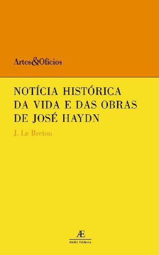 Notícia Histórica da Vida e das Obras de José Haydn, livro de J. Le Breton