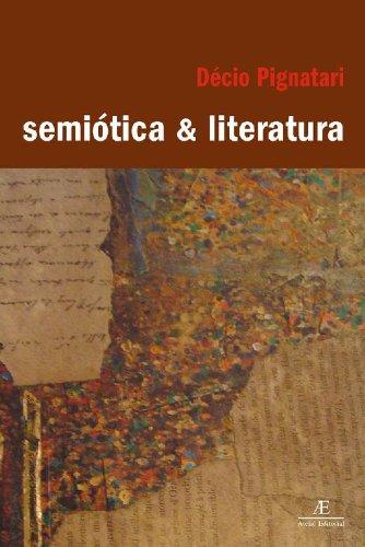 Semiótica e Literatura, livro de Décio Pignatari