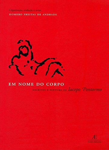 Em Nome do Corpo, livro de Iacopo Pontormo