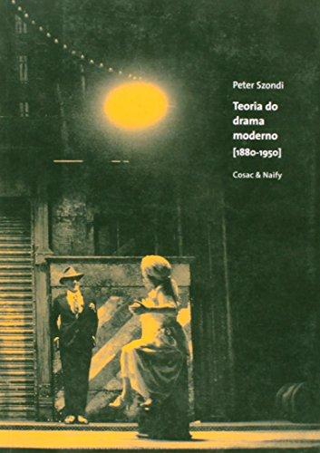Teoria do drama moderno [1880-1950], livro de Peter Szondi