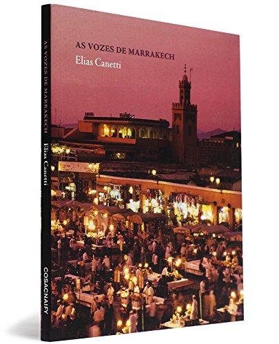 As vozes de Marrakech, livro de Elias Canetti