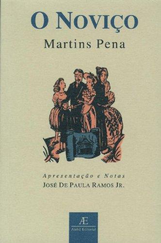O Noviço, livro de Martins Pena