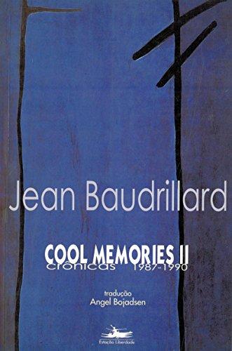 COOL MEMORIES II, livro de Jean Baudrillard