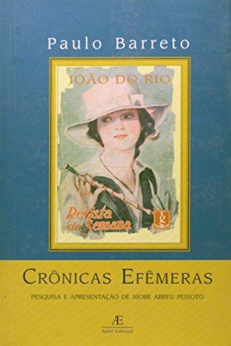 Crônicas Efêmeras, livro de João do Rio