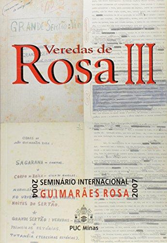 Veredas de Rosa III, livro de Lélia Parreira Duarte (Org.)