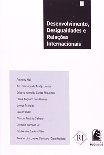Desenvolvimento, desigualdades e relações internacionais, livro de Taiane Las Casas Campos (Org.)