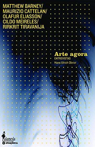 Arte agora - Entrevistas, livro de Hans Ulrich Obrist