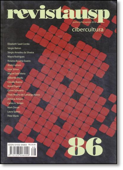 Cibercultura - Revista Usp Nº 86, livro de Varios Autores