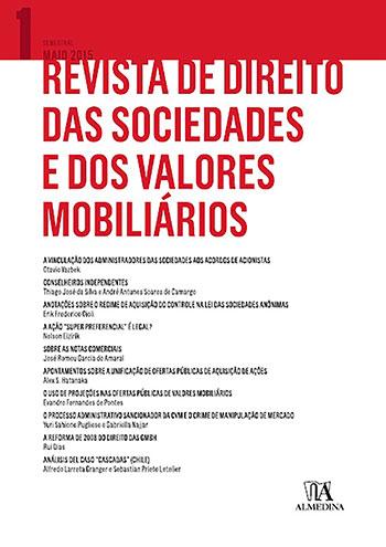 Revista de direito das sociedades e dos valores mobiliários, livro de Nelson Eizirik, Erasmo Valladão Azevedo e Novaes