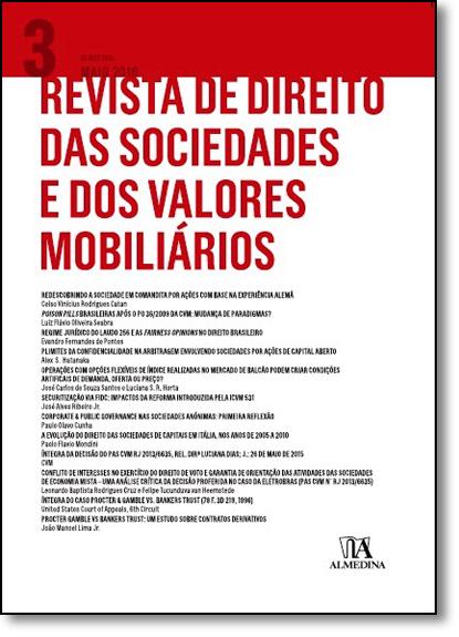 Revista de Direito das Sociedades e dos Valores Mobilários - Vol.3, livro de Erasmo Valladao Azevedo